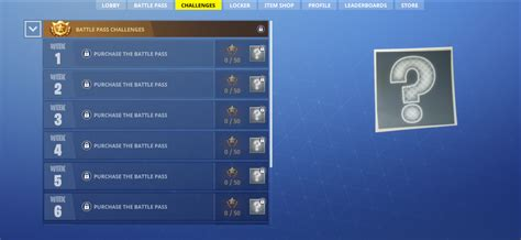 fortnite week 3 challenges fortnite battle royale s new battle pass includes