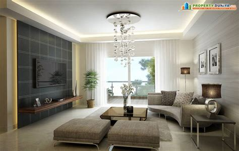 draw room drawing room in modern apartment propertyduniya