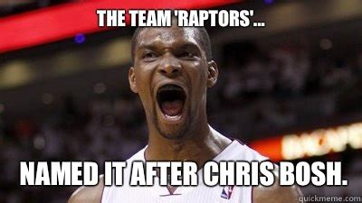 Chris Bosh Chagne Meme - dinosaur roar chris bosh disease quickmeme
