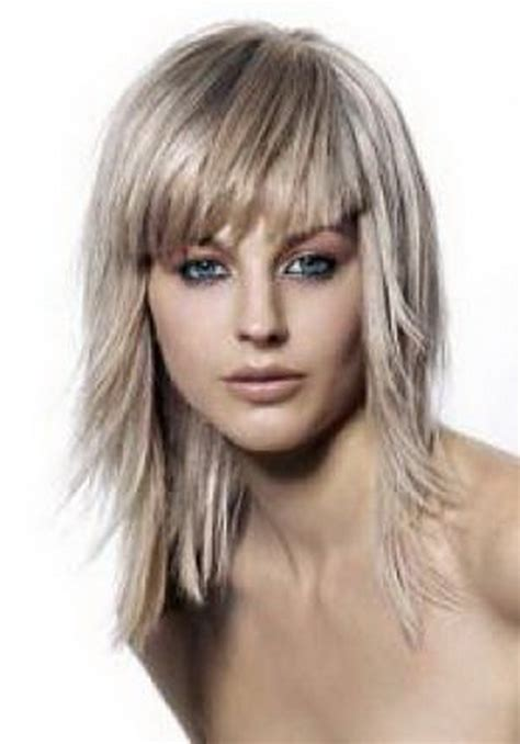 medium very layered hair medium layered hairstyles for fine hair