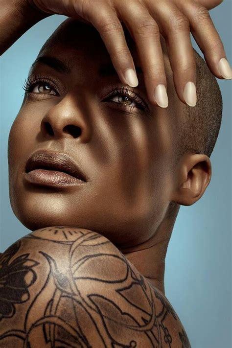 beautiful bald black women beautiful beautiful ebony women pinterest