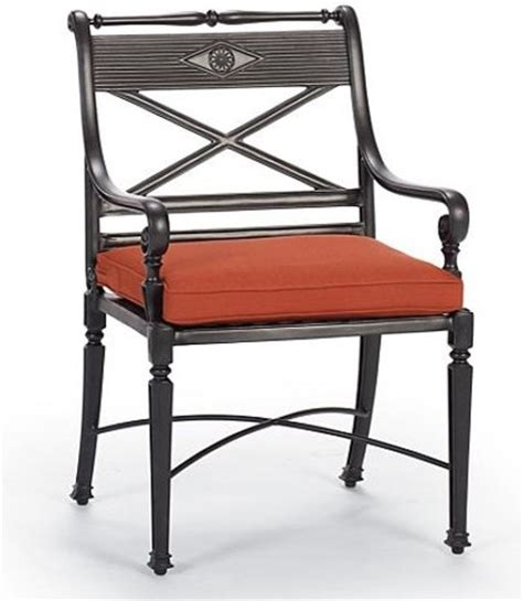 carlisle outdoor dining chair and outdoor bar stool