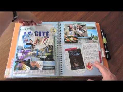 travel picture book smash book als reisetagebuch travel journal