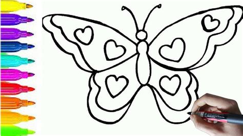 Butterfly Coloring Pages For Toddlers by Butterfly Coloring Pages For Toddlers Best Coloring Pages
