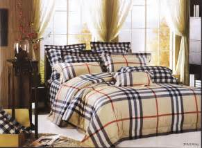 burberry quality bedding set mad about plaid