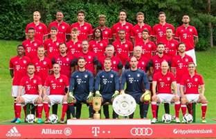 fc bayern le bayern munich roster players squad 2017 2018 17 18 name