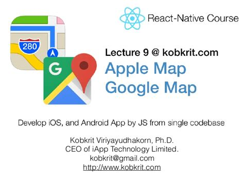 react native tutorial video react native tutorial map