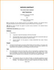 10 contract template for services agreement ledger paper