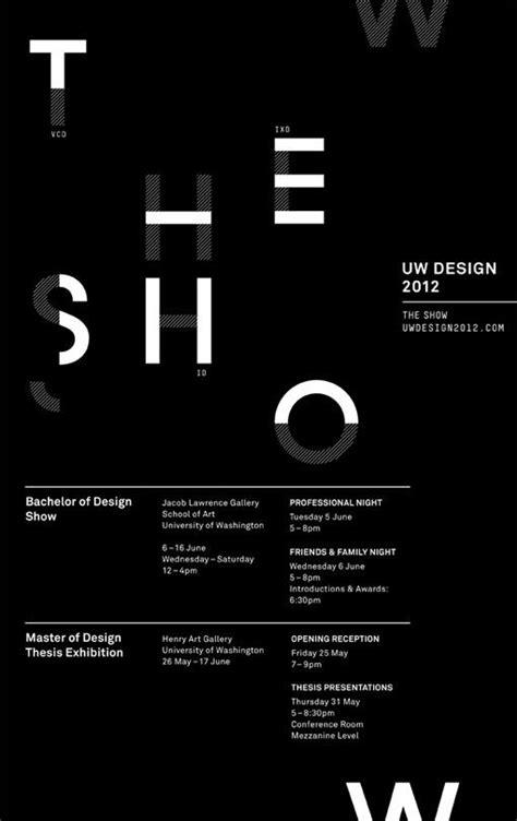 poster design grid layout uw design 2012 design work life nicole yeo jonny