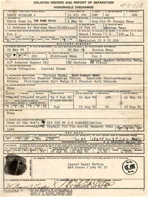 Army Discharge Records Army Records Ww2 Driverlayer Search Engine