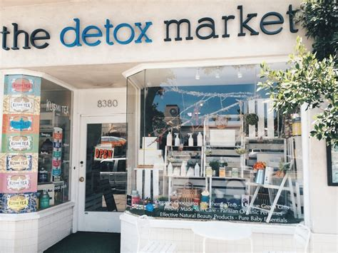 The Detox Market by Store Review Detox Market L A Caroline Hirons