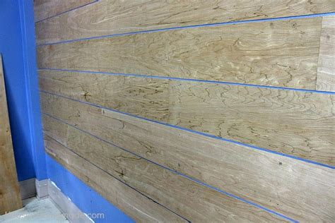 shiplap made from plywood diy shiplap wall for under 40 hoosier homemade