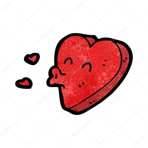 imagenes de corazones tirando besos dibujos animados de coraz 243 n besos archivo im 225 genes