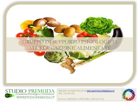 psicologia alimentare gruppo di supporto educazione alimentare studio premuda