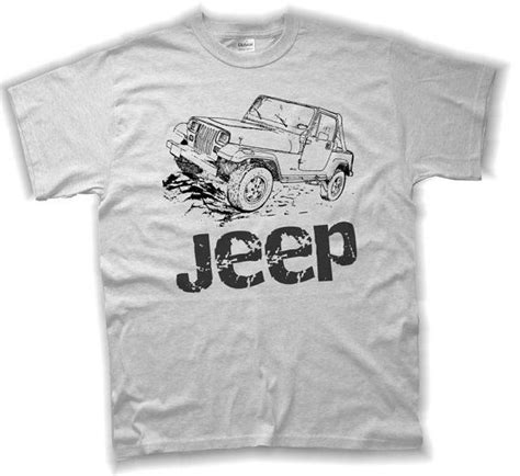 jeep wrangler t shirt s m l xl jeep shirts youth and