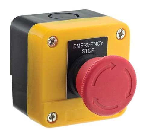 Manitoba E Stop standard duty emergency stop switches electrical
