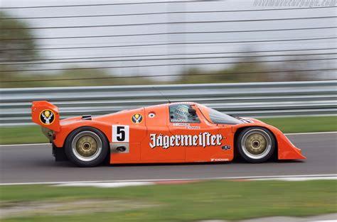 Porsche 962c by Racecarsdirect Quot J 228 Germeister Quot Porsche 962c Brun