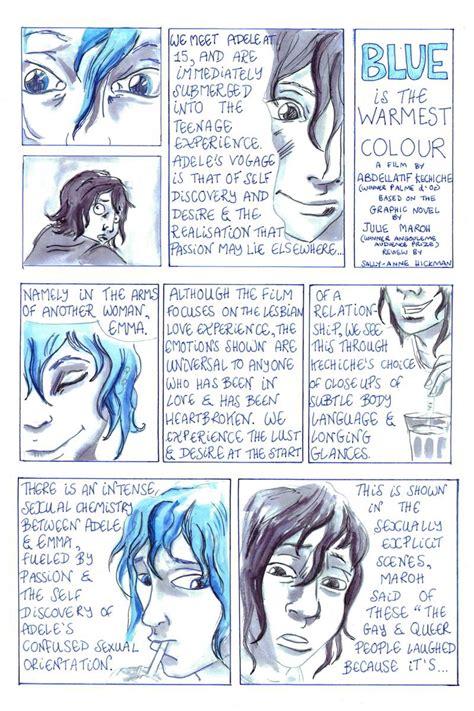 blue is the warmest color book blue is the warmest color graphic novel www pixshark