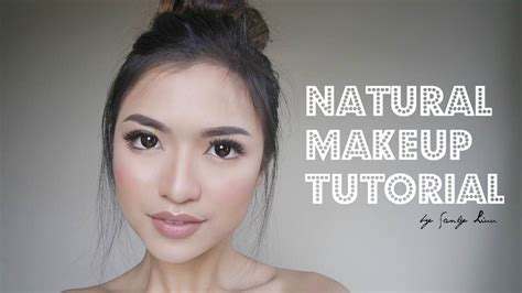 natural makeup tutorial for chinese natural make up tutorial asian indonesia youtube
