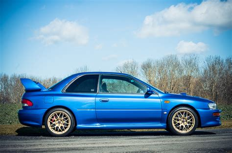 subaru impreza 98 for sale 1998 subaru impreza sti 22b expected to sell for 100 000