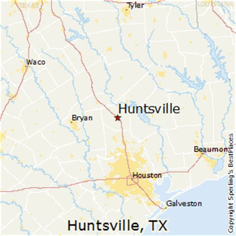huntsville texas map best places to live in huntsville texas
