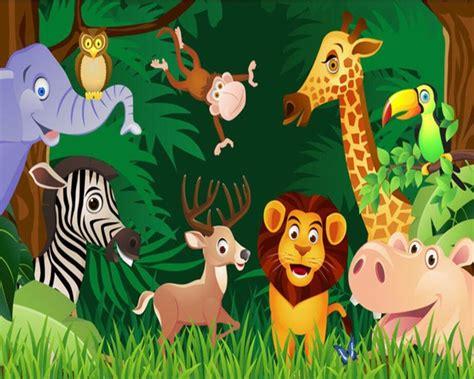 gambar kartun hutan  hewan aliansi kartun