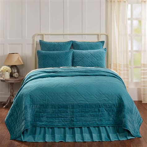 Teal Quilts And Bedspreads 223529669 1
