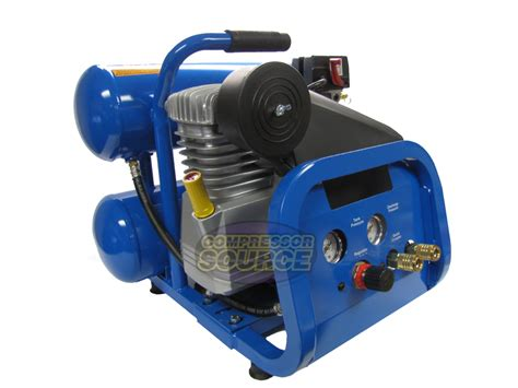 2 hp contractor series stack 4 gallon air compressor dp 2022s ebay