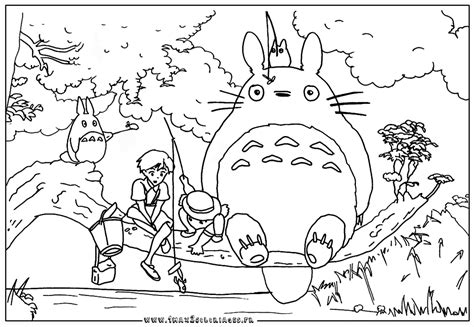 Http Www 1max2coloriages Fr Coloriages Miyasaki Mon Totoro Coloring Pages