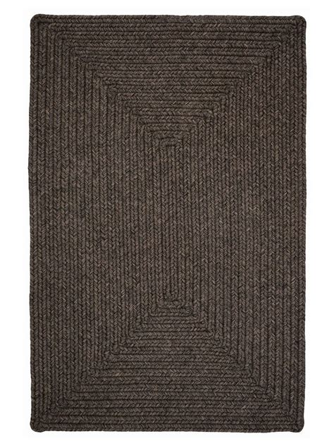 house rugs indoor burnished brown braided indoor outdoor rug cottage home 174