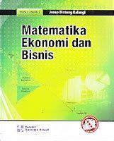 Memahami Laporan Keuangan Edisi 7 matematika ekonomi dan bisnis buku 2 josep buku ekonomi