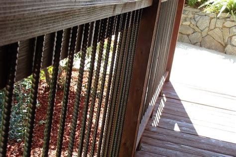 Cheap Banisters by 17 Best Images About Rebar Rails On Decks Diy