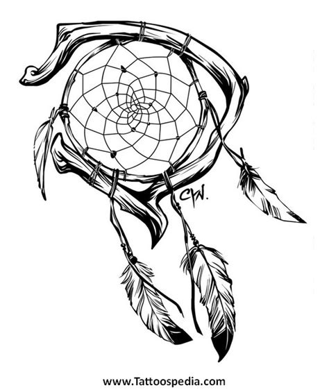 tribal dreamcatcher tattoo designs dreamcatcher tribal 3
