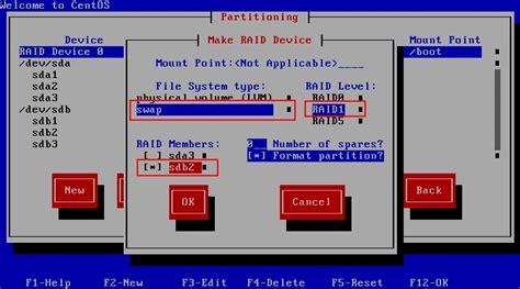 tutorial raid linux how to setup software raid for centos iprobot net