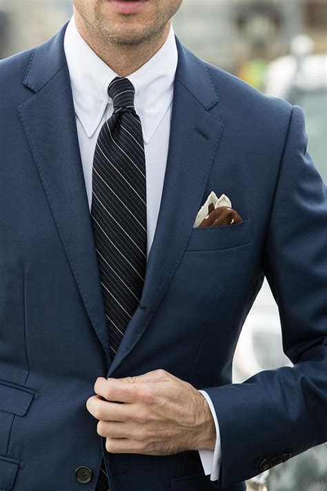 """The """"All Business"""" Royal Blue Suit   He Spoke Style"""