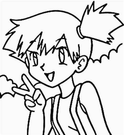 pokemon coloring pages misty pokemon grandparents com