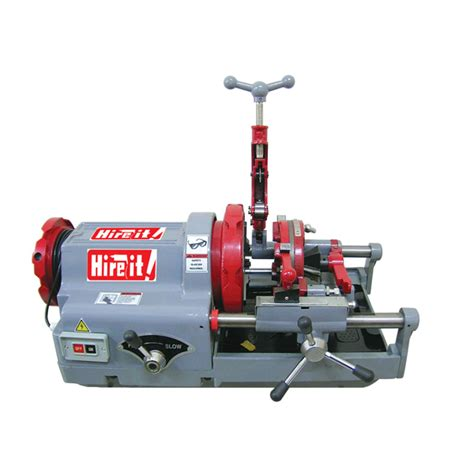 Plumbing Pipe Threader by Pipe Threader Machine 1 2 3 12 7mm 76 2mm Hire It