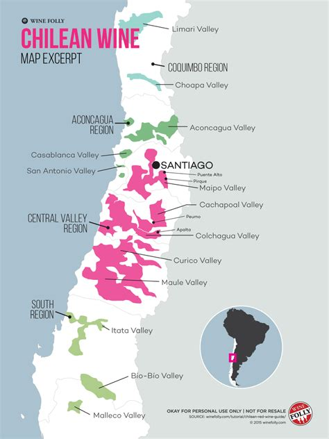 chile regions map thirsty guide to chilean wine wine folly