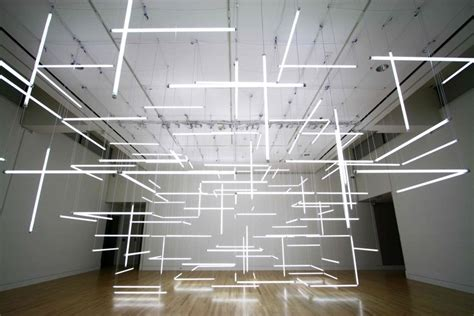 enthralling installation composed of 200 suspended