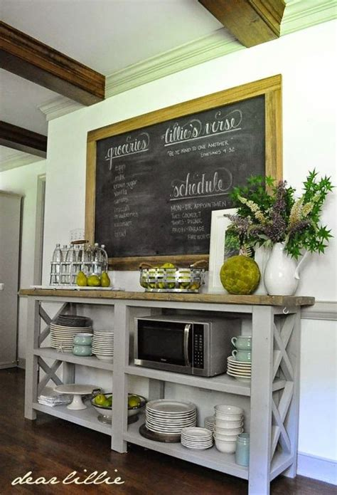 diy chalkboard kitchen table a sideboard for the kitchen i by dear lillie kitchen