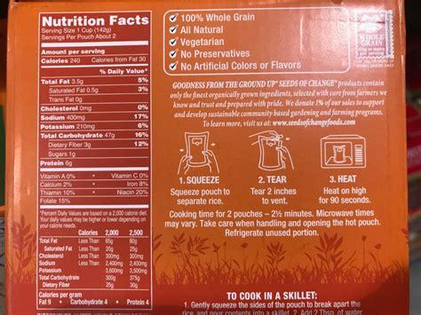 seeds  change quinoa brown rice  garlic nutrition