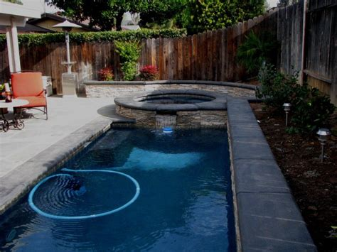 Small Backyards With Pools My Business Custom Pool Building Modern Designs