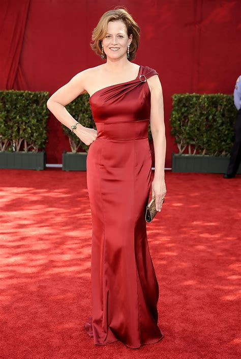 Pictures From The 61st Emmy Awards by Sigourney Weaver Photos Photos 61st Annual Primetime