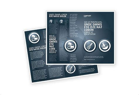 drug brochure templates download free premium