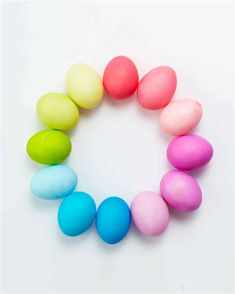 egg colors egg dyeing 101 martha stewart
