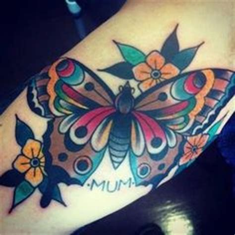 neo trad butterfly tattoo neo traditional butterfly tattoodenenasvalencia