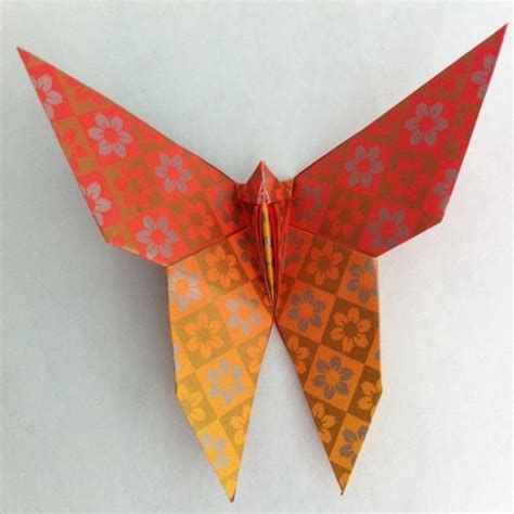 Origami Of Butterfly - japanese wedding origami butterfly invitation design