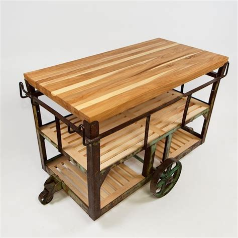outdoor kitchen carts and islands buy a handmade kitchen island cart made to order from