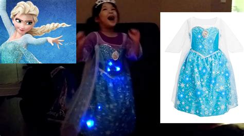 frozen light up dress disney frozen elsa dress lights up spinning dance
