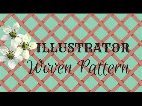 pattern tile tool illustrator how to create a basket weave pattern in illustrator